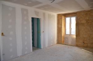 Future chambre Paris et sa salle de bains