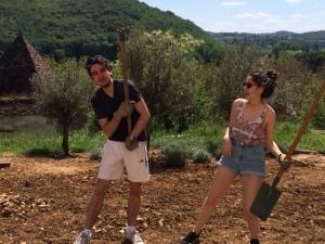 Mathilde et Pierre dans le rythme